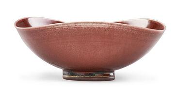 Berndt Friberg, 'Bowl, oxblood glaze', 1950s-70s