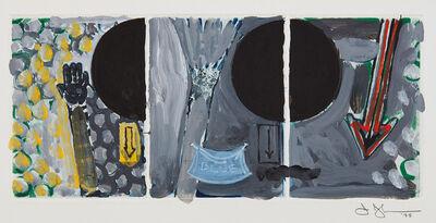 Jasper Johns, 'Untitled (Red, Yellow, Blue)', 1998
