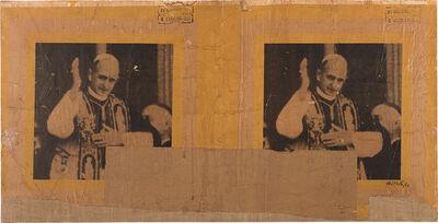 Mimmo Rotella, 'La Benedizione', 1963