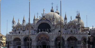 'Basilica San Marco', ca. 1063-1073 (later additions; lead sheathing added in 13th century)