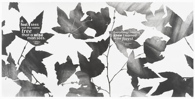 Andrea Bowers, 'People ́s Initiative Poetic Protest on Paper, Group 1, 1 of 4', 2020