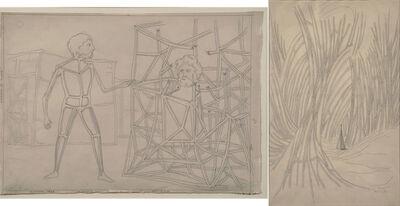 Roberto Aizenberg, 'Dibujo (Figuras Arcaicas)', 1949