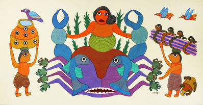 Durgabai Vyam, 'Baasin Kaniya(Bamboo Girl)', 2010
