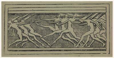 Henry Moore, 'Frieze of Dancing Figures', 1921