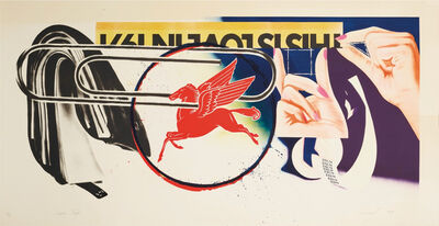 James Rosenquist, 'Paperclip', 1974