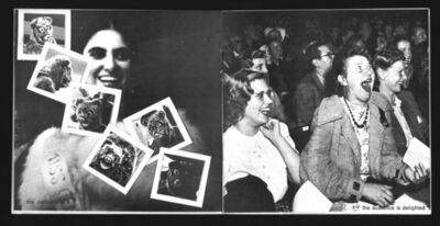 General Idea, 'Photographs from The 1971 Miss General Idea Pageant documentation', 1971