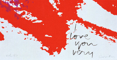 Corita Kent, 'Valentine '83', 1983