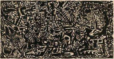 Gunter Damisch, 'Ineinanderrhythmus', 1981