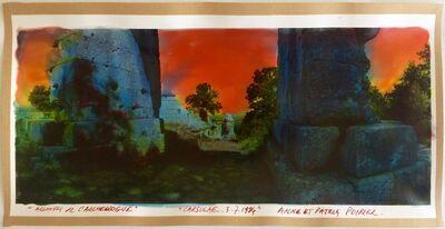 Anne and Patrick Poirier, 'Archives de l'Archéologue (Carsulae, 3.7.1984)', 1984