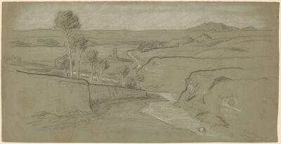 Elihu Vedder, 'Roman Landscape', ca. 1900