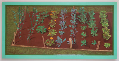Patricia Patterson, 'Winter Vegetable Bed', 1991