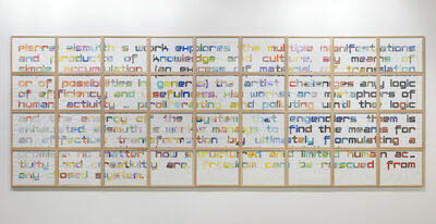 Pierre Bismuth, 'freedom can be rescued from any closed system; 36 parts', 2011