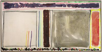 Joyce Weinstein, 'Autumn Country Fields with a Purple', 2012