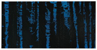 Fabienne Verdier, 'Table d'harmonies II En Primary blue', 2015