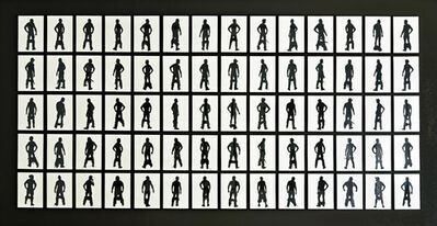 Stefan Thiel, '100 Berlin Based Men (set of 140 pieces) No. 8/10 (+1)'