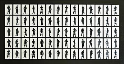 Stefan Thiel, '100 Berlin Based Men (set of 140 pieces) No. 8/10 (+1)'