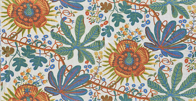 "Josef Frank, 'Five ""Aralia"" fabric panels'"