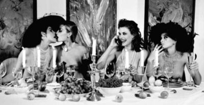 Marc Lagrange, 'Four woman at Dinner', 1999