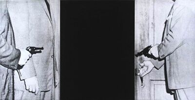 John Baldessari, 'Large Door, from Hegel's Cellar Portfolio', 1986