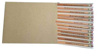 Jenny Holzer, ' Survival Series (Pencil Set)', 1991