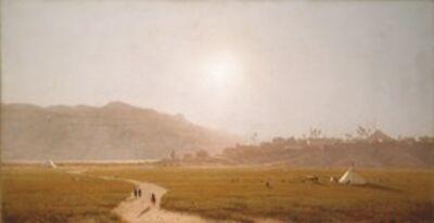 Sanford Robinson Gifford, 'Siout, Egypt', 1874