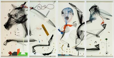 Aditya Pande, 'Mathemythic Threedom', 2009