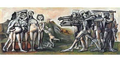 Pablo Picasso, 'Massacre in Korea', 1951