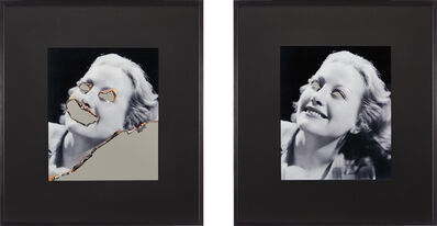 Douglas Gordon, 'Self Portrait of You and Me (Joan Crawford Diptych)', 2006