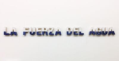 C.J. Chueca, 'La Fuerza Del Agua', 2019