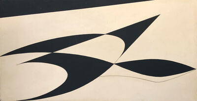 Georges Folmer, 'Composition - Ailes Noires' ('Black Wings')', 1960