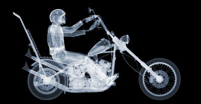 Nick Veasey, 'Easy Rider, Ed. 7/25', 2015