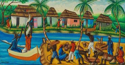 Gerard Valcin, ' Haitian River, 1964', dated 1964