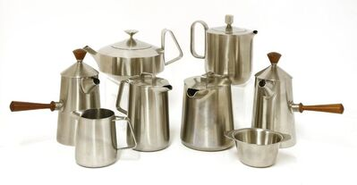 Robin Welch, 'A collection of Old Hall stainless steel items'