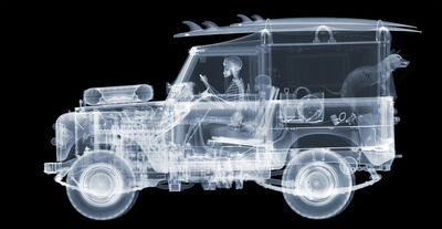 Nick Veasey, '1972 Land Rover Series 3 Surfer Lightbox ', 2020