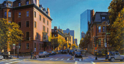 Joel Babb, 'Beacon and Clarendon, Afternoon Light', 2008