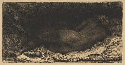 Rembrandt van Rijn, 'Reclining Female Nude', 1658