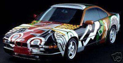 David Hockney, 'BMW Art Car', 1986