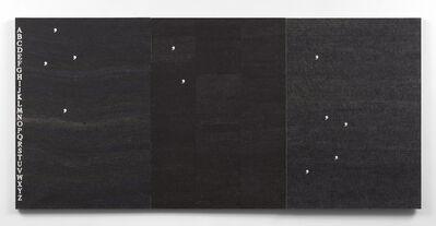 Alighiero Boetti, 'Fame di vento', 1979