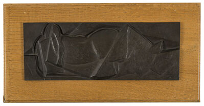 Henri Laurens, 'Femme couchée de dos', 1921