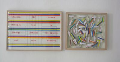 Art & Language, 'PORTRAIT OF A DREAM XV', 1973