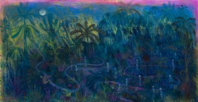 Anders Brinch, 'Night Petanque', 2021