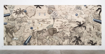 Josh Reames, 'Josh Reames and Jose Lerma, He Hath Founded It Upon the Seas, I', 2016