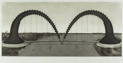 Claes Oldenburg, 'Screw Arch Bridge State II', 1980