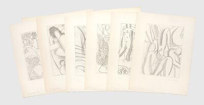 Henri Matisse, 'Ulysses - Six Signed Proofs of Original Etchings for Ulysses', 1935