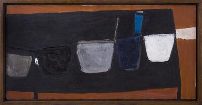 William Scott (1913-1989), 'Still Life on Black Table (II)', 1956