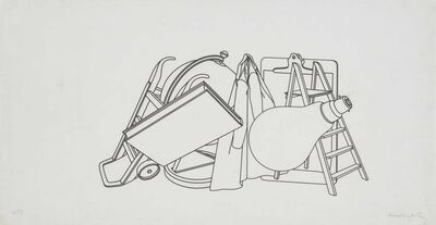 Michael Craig-Martin, 'Study for Wall Drawing', 1981