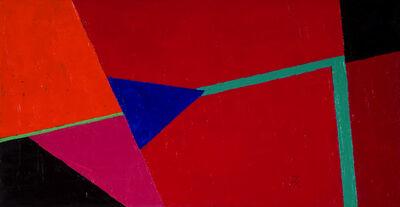 Inés Bancalari, 'Rojo, azul y turquesa', 2006