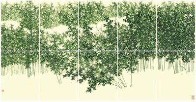 Koon Wai Bong, 'Bamboo Groves in Mist', 2018