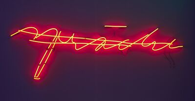 Joseph Kosuth, ' 'L.W.'s Last Word'', 1991