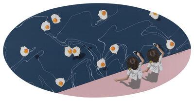 Han Yajuan 韩娅娟, 'Schrödinger's Egg (薛定谔的鸡蛋) ', 2019